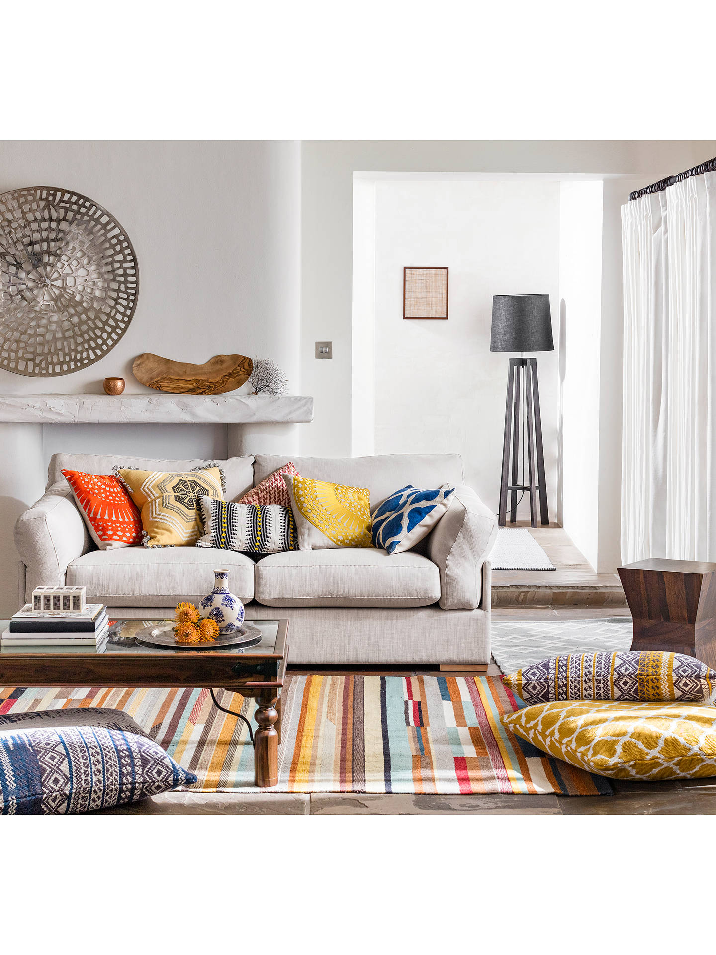 Miraculous John Lewis Partners Java Medium 2 Seater Sofa Cjindustries Chair Design For Home Cjindustriesco