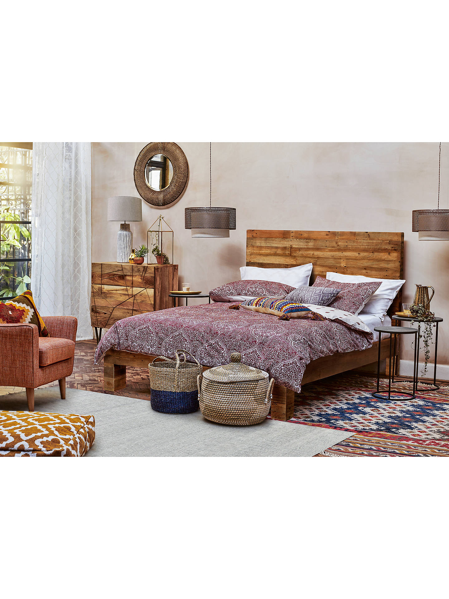 Buy Roar + Rabbit for west elm Geo Inlay 3 Drawer Chest Online at johnlewis.com