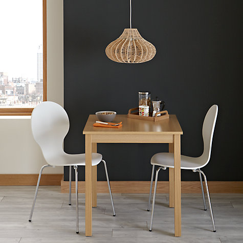 Buy John Lewis The Basics Daisy 2 Seater Dining Table John Lewis
