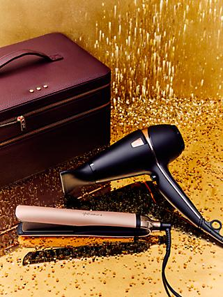 ghd Platinum+® Styler and Air® Hair Dryer Deluxe Gift Set, Black/Rose Gold