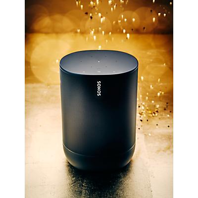 Sonos Move Smart Speaker with Voice Control, Black