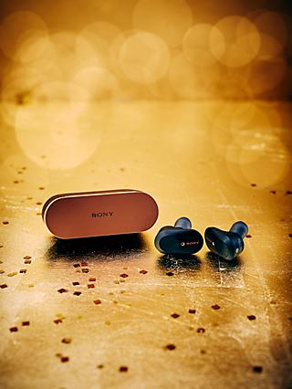 Sony WF-1000XM3 Noise Cancelling True Wireless Bluetooth NFC In-Ear Headphones with Mic/Remote