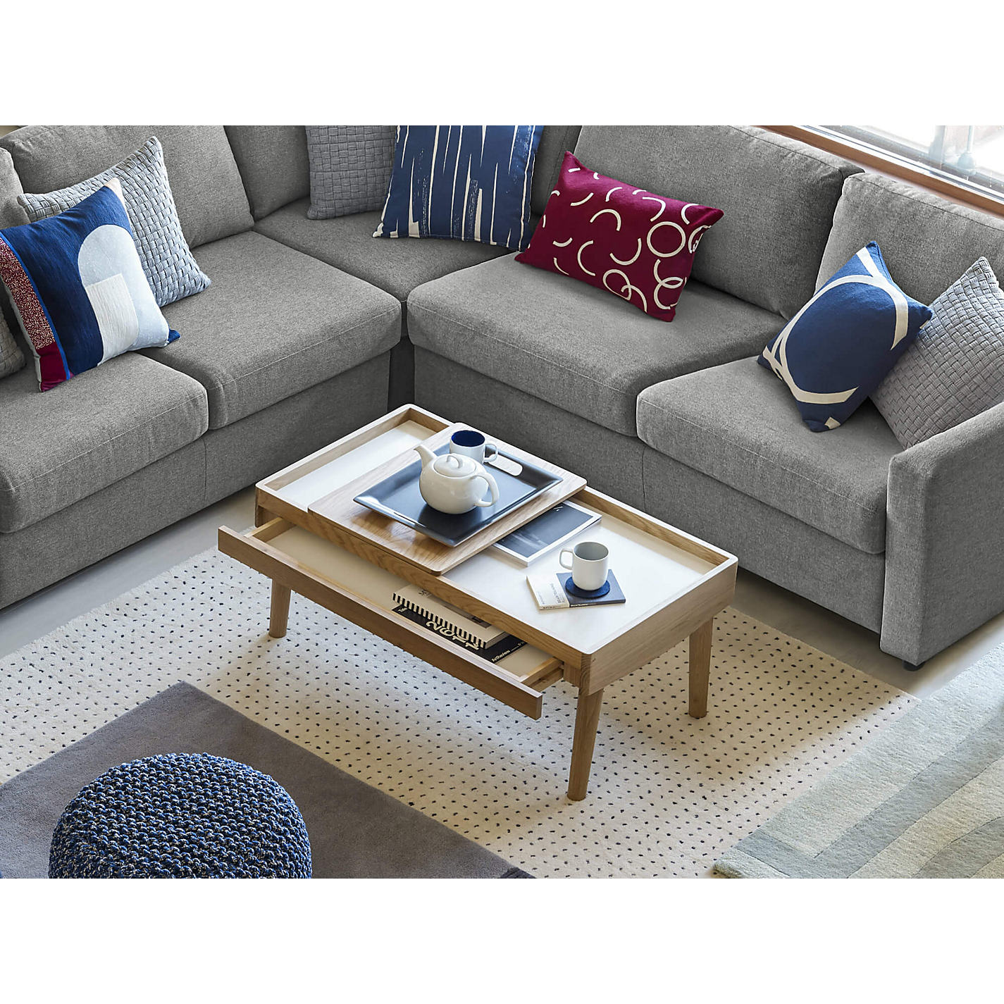 Buy House by John Lewis Bow Storage Coffee Table
