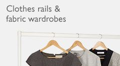 Clothes rails & fabric wardrobes