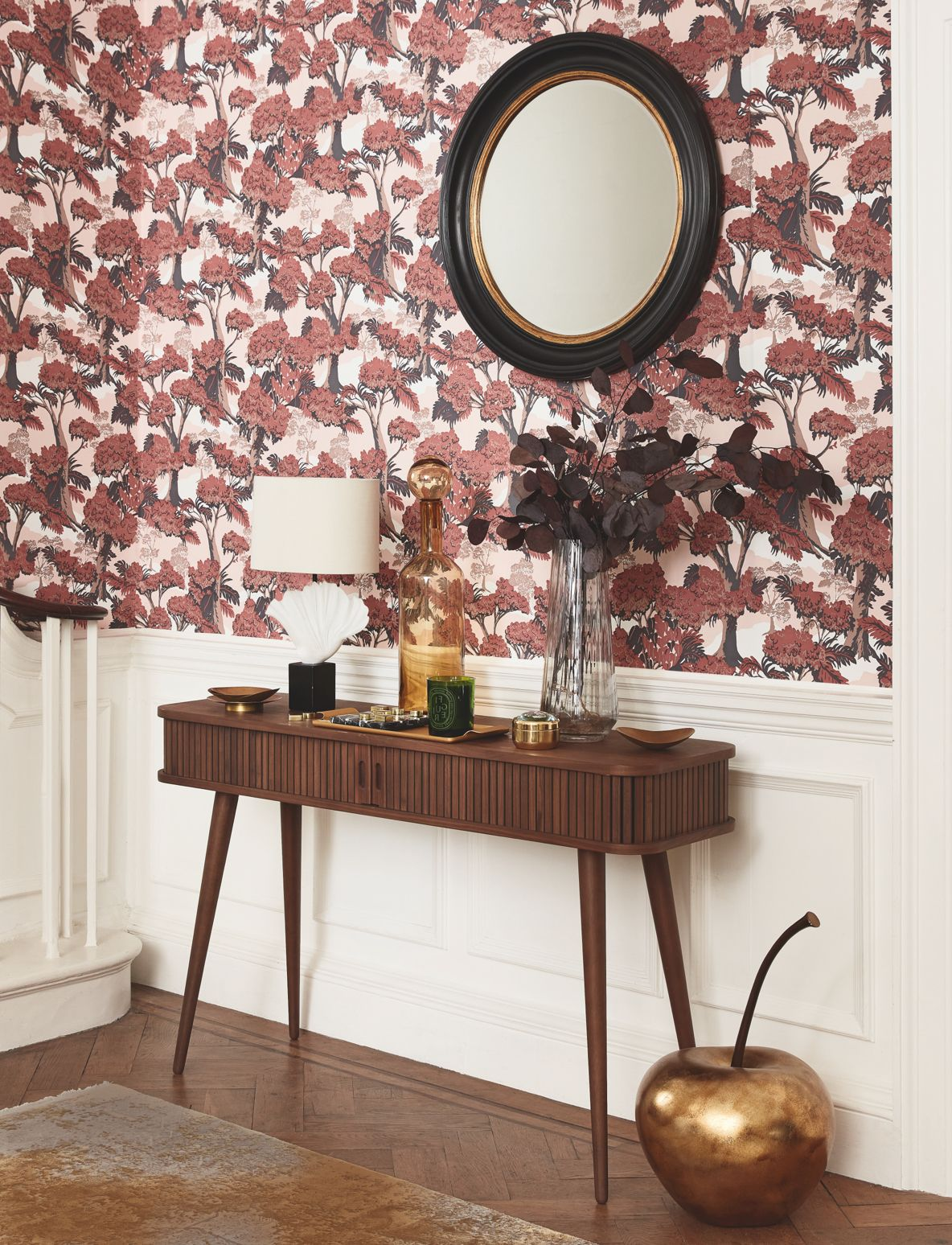 Wall Decor - Mirrors / Wallpaper