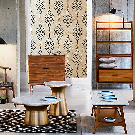 buy west elm martini side table john lewis. Black Bedroom Furniture Sets. Home Design Ideas