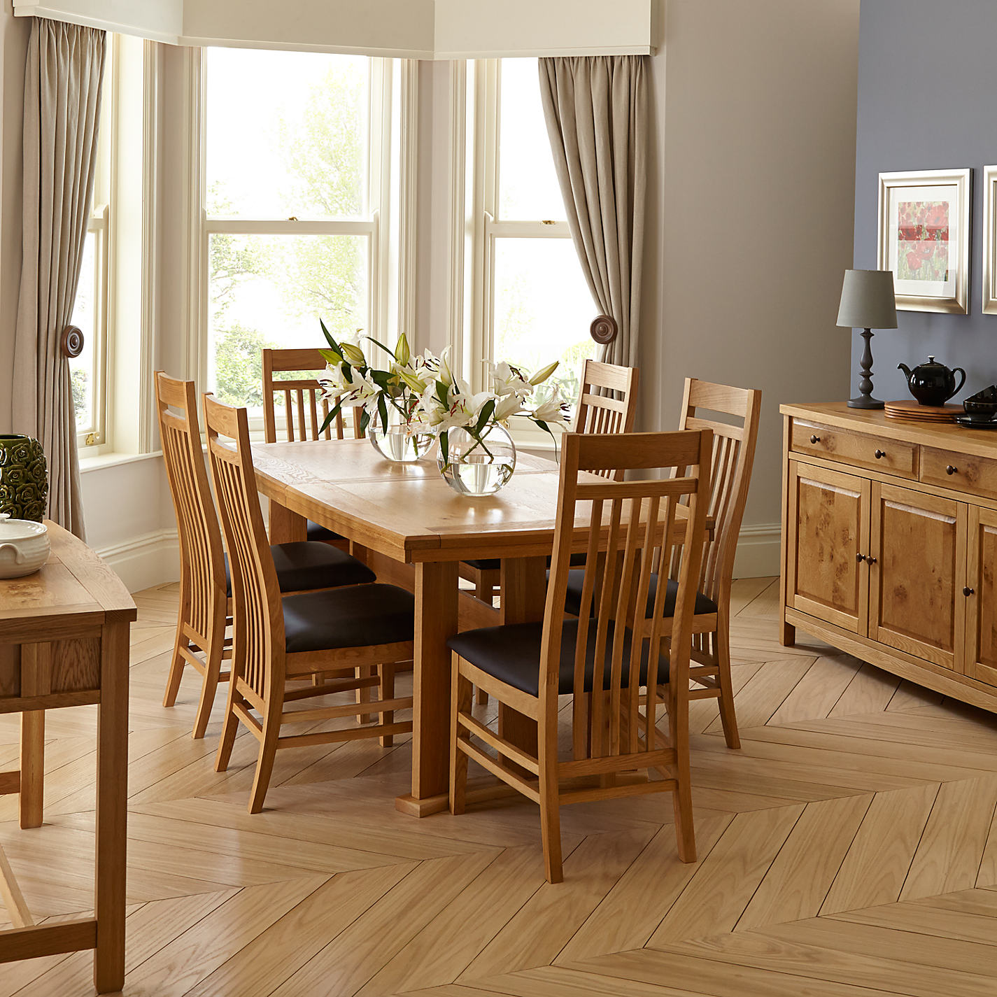 Buy John Lewis Burford Extending 6 8 Seater Dining Table Online At Johnlewis