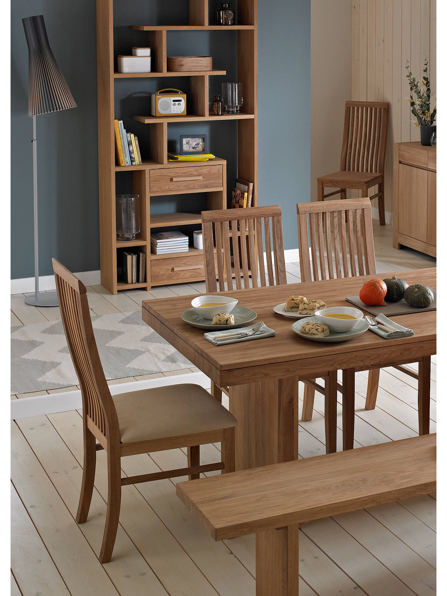 John Lewis Partners Henry Floating Top Dining Table At
