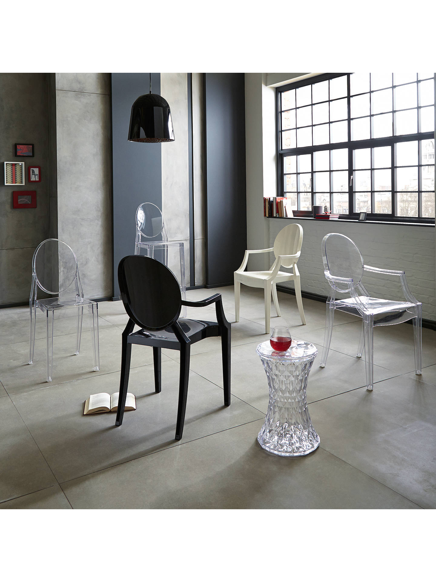 Philippe Starck for Kartell Victoria Ghost Chair at John Lewis ...