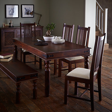 Buy John Lewis Maharani 6 Seater Dining Table Online At Johnlewis
