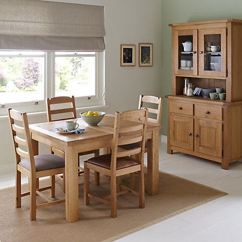 Buy John Lewis Pendleton 2 Door Dresser Top Oak Online At Johnlewis