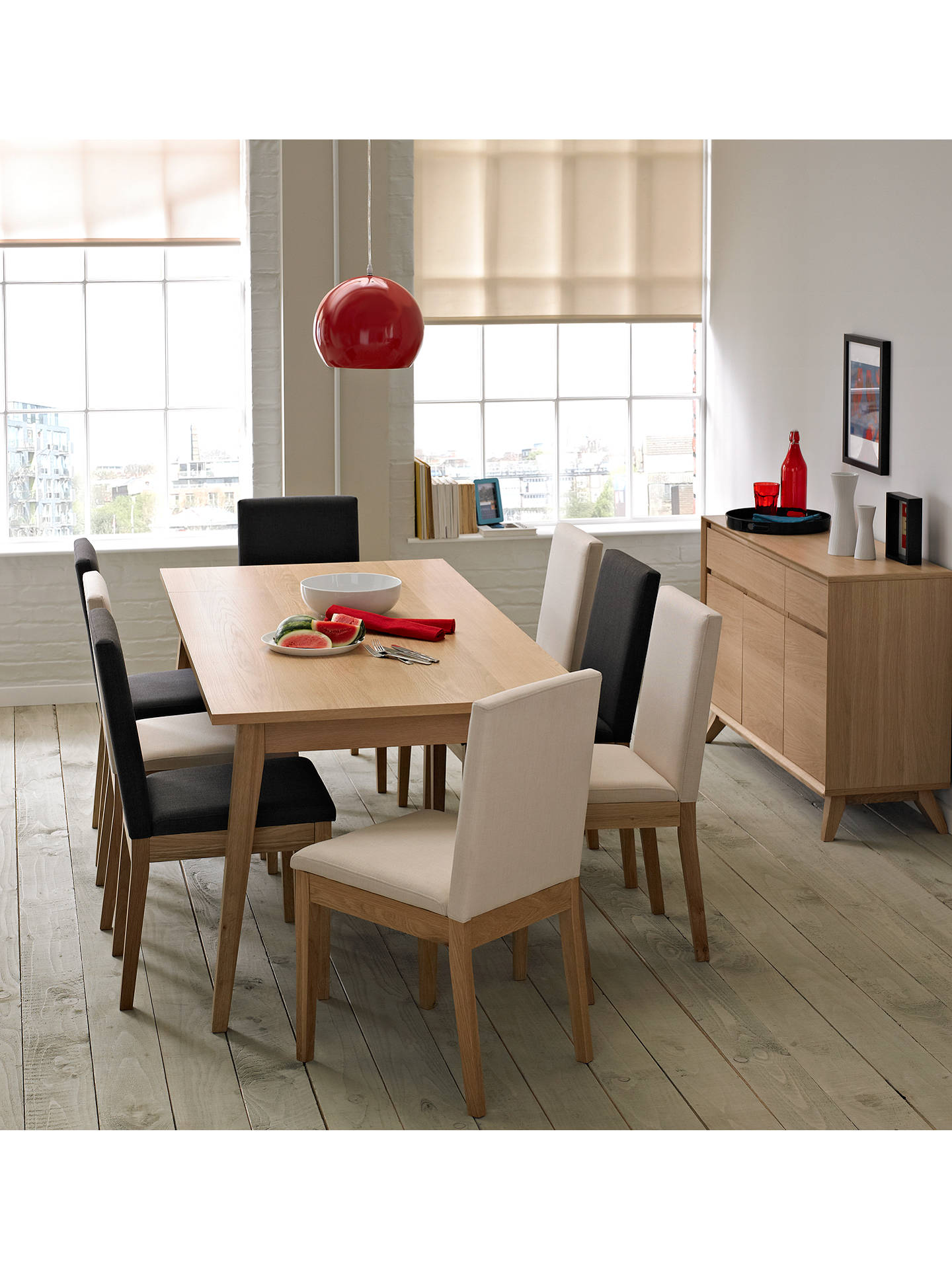 Buy House by John Lewis Stride Dining Chair, Steel Online at johnlewis.com