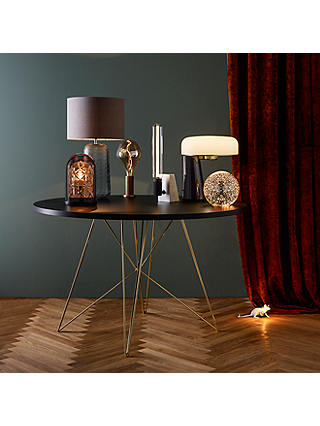 Buy Doshi Levien for John Lewis Open Home Falcon LED Table Lamp, Black Online at johnlewis.com