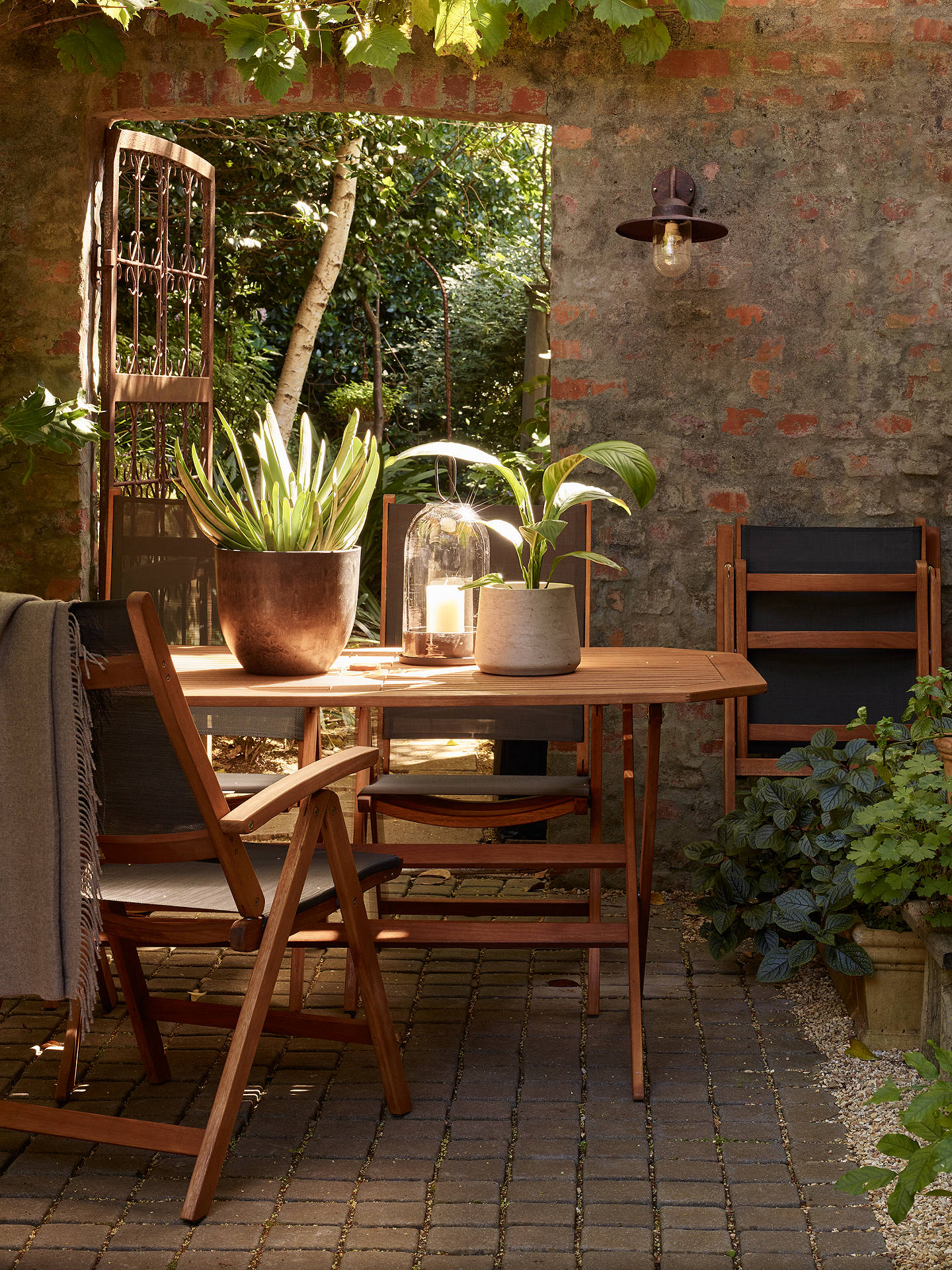 John Lewis & Partners Venice 6 Seater Garden Gateleg Table, FSC ...