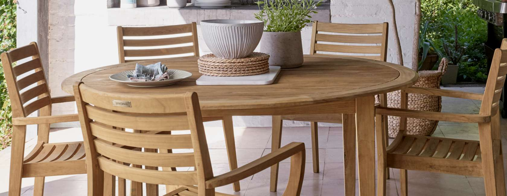 John Lewis & Partners Longstock Outdoor Furniture at John Lewis ...