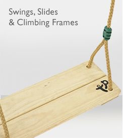 Swings, Slides & Climbing Frames