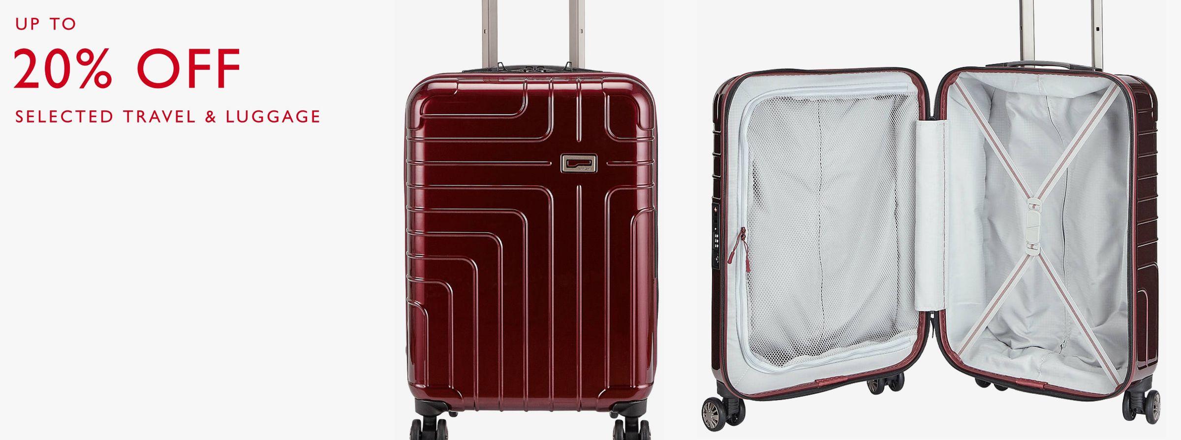 8e3abc11d374 Suitcases | Cabin, Medium and Large Suitcases | John Lewis