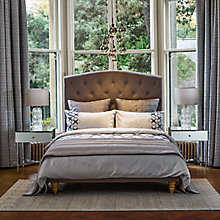 Buy Genevieve Bennett for John Lewis Deco Flower Embroidered Cotton Bedding Online at johnlewis.com