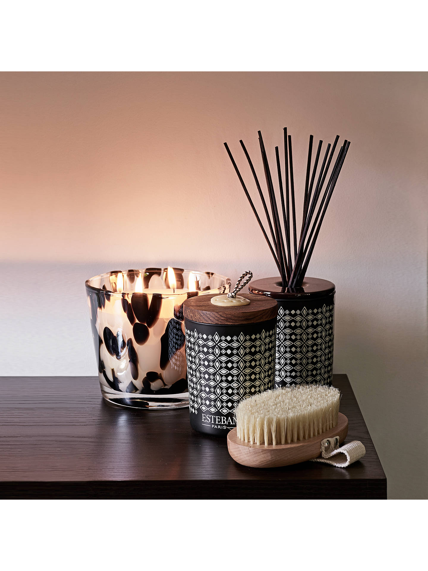 Buy Baobab Black Pearls Max 10 Jar Scented Candle, 500g Online at johnlewis.com