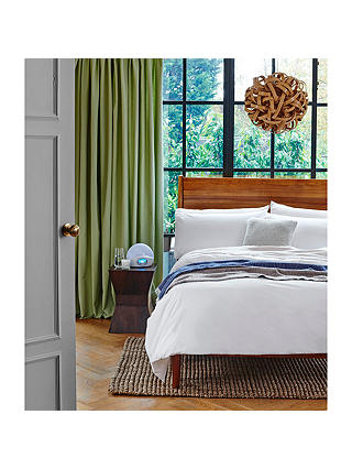 Buy west elm Mid-Century Bed Frame, Double, FSC Certified (Eucalyptus), Acorn Online at johnlewis.com