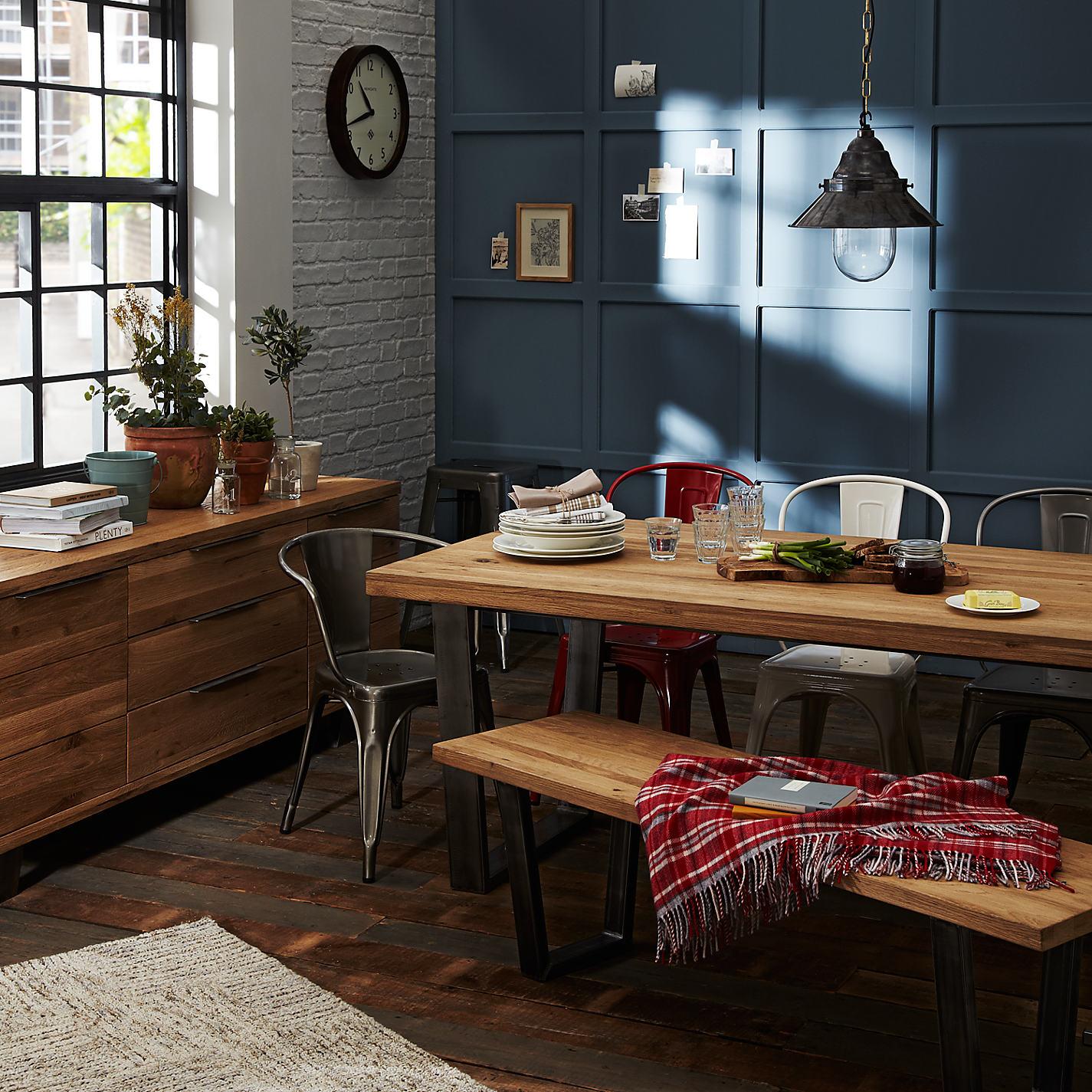 Buy John Lewis Calia 3 Seater Dining Bench Online At Johnlewis