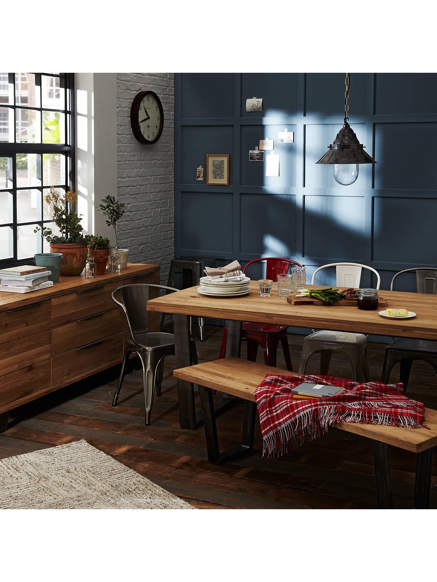 Buy John Lewis Partners Calia 8 Seater Dining Table Oak Online At Johnlewis