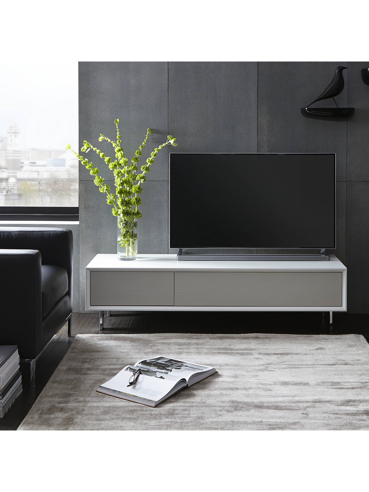 innovative design fc763 922cb John Lewis & Partners Dante TV Stand for TVs up to 65