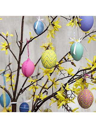 Buy John Lewis & Partners Bright Egg Decorations, Set of 12 Online at johnlewis.com