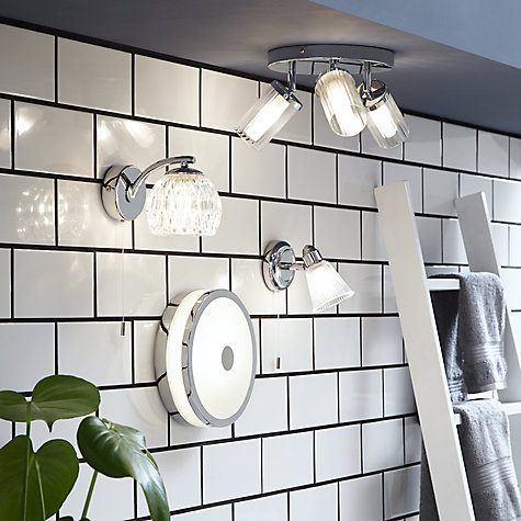 Buy john lewis shiko bathroom ceiling light john lewis John lewis bathroom design and fitting