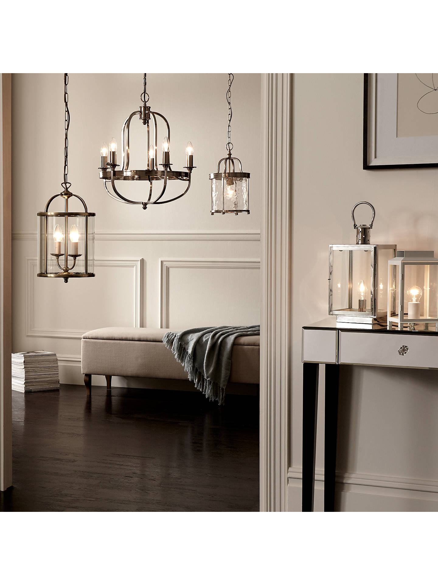 Buy John Lewis & Partners Walker Lantern Ceiling Light Online at johnlewis.com