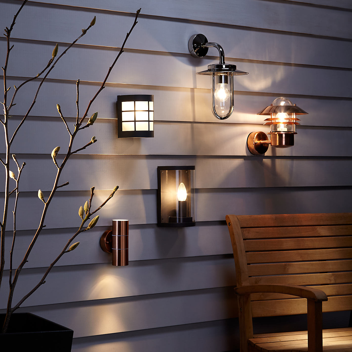 Outdoor Wall Lights John Lewis