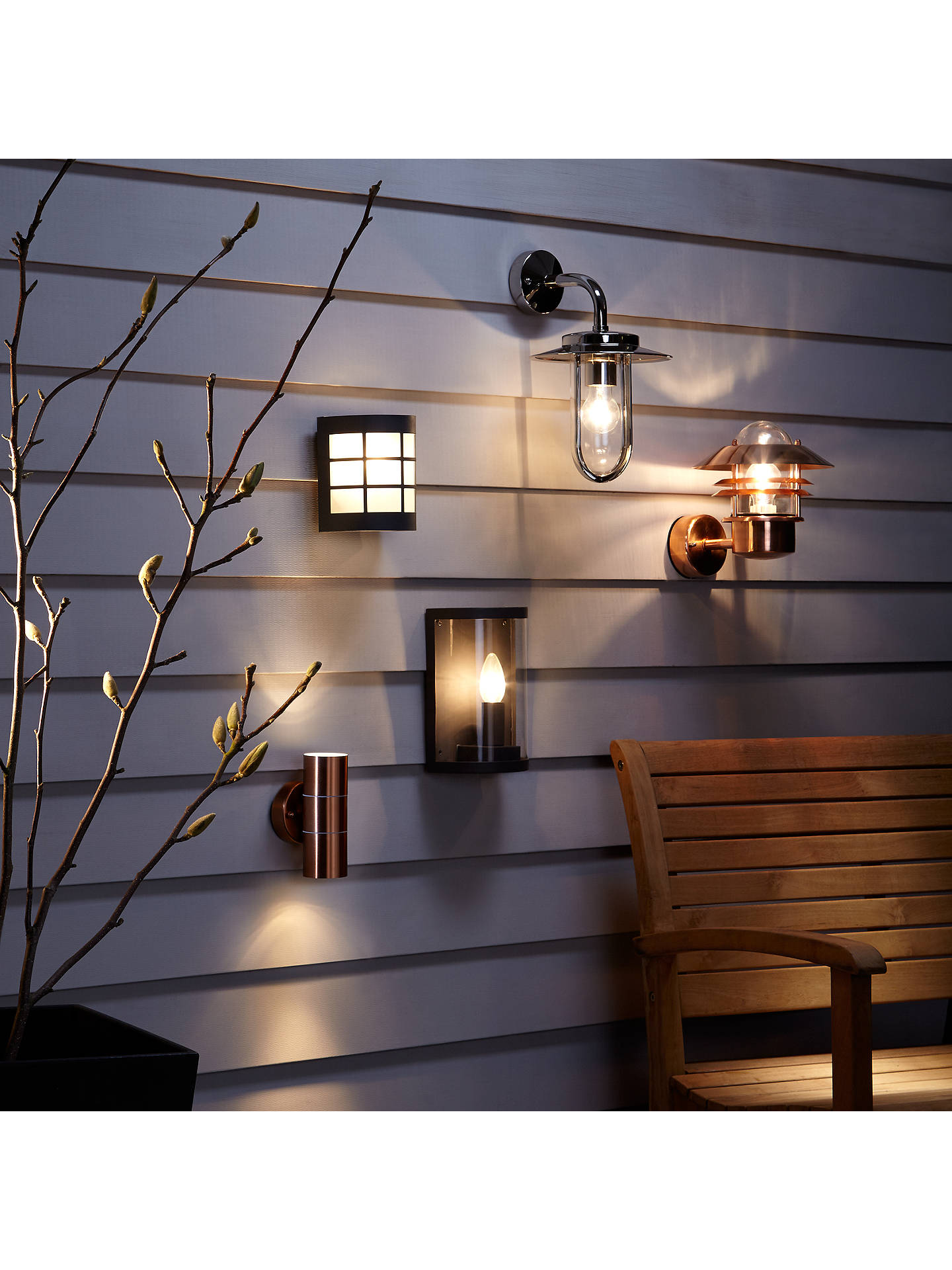 first rate acadd 2bcf2 Astro Montparnasse Outdoor Lantern Wall Light, Polished Nickel