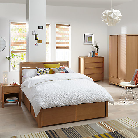 Buy john lewis morgan double wardrobe oak online at for John lewis bedroom ideas