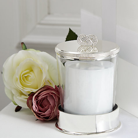 Buy Vera Wang for Wedgwood Infinity Candle on Base Online at johnlewis.com