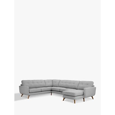 John Lewis Barbican Corner End Sofa with RHF Chaise Unit