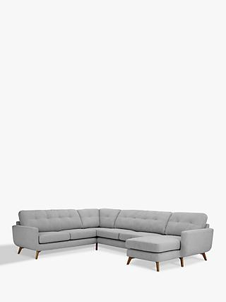John Lewis & Partners Barbican Grand Corner End Sofa with RHF Chaise Unit