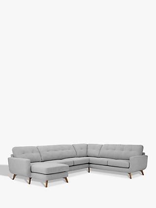 John Lewis & Partners Barbican Grand Corner End Sofa with LHF Chaise Unit