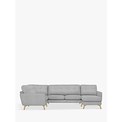 John Lewis Barbican Corner End Sofa with RHF Chaise Unit