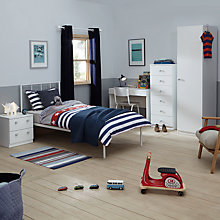 Buy little home at John Lewis Mix it Grey Wooden Handle Bedroom Range Online at johnlewis.com