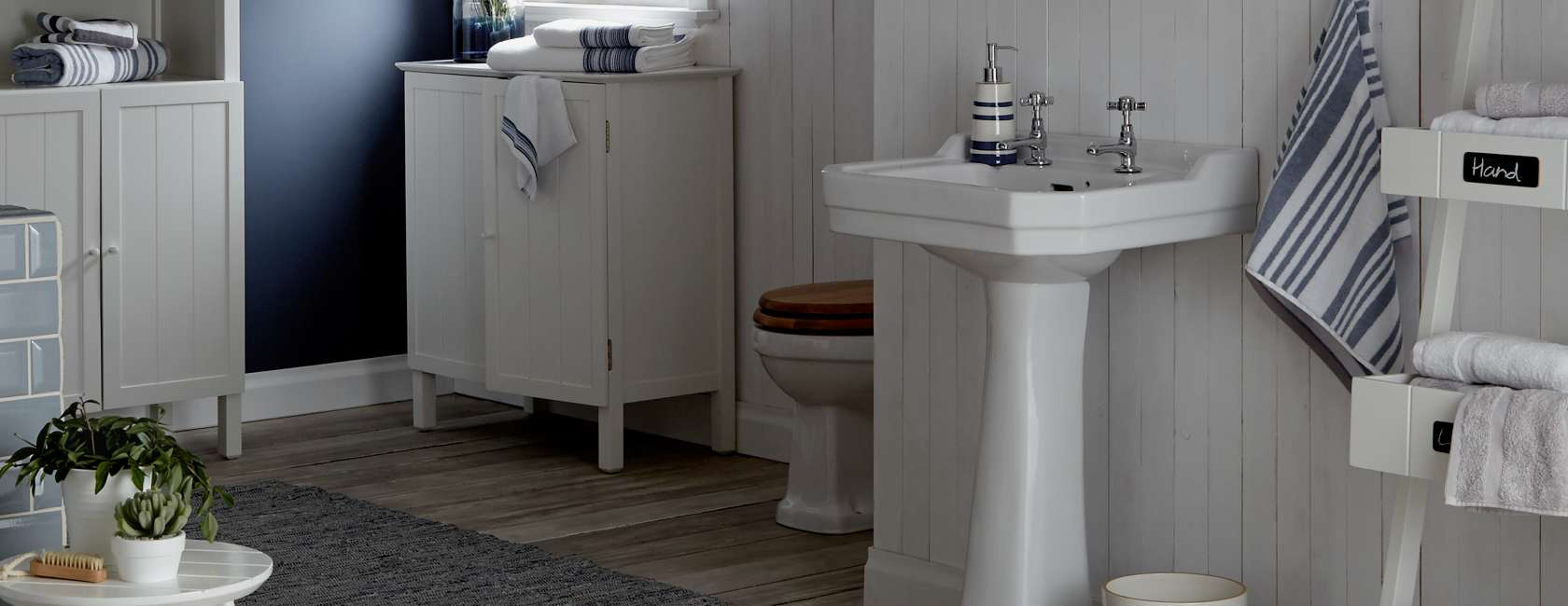 John Lewis & Partners St Ives Bathroom Furniture Range at John
