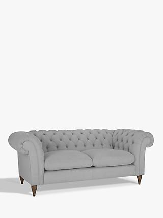 John Lewis Partners Cromwell Chesterfield Large 3 Seater Sofa
