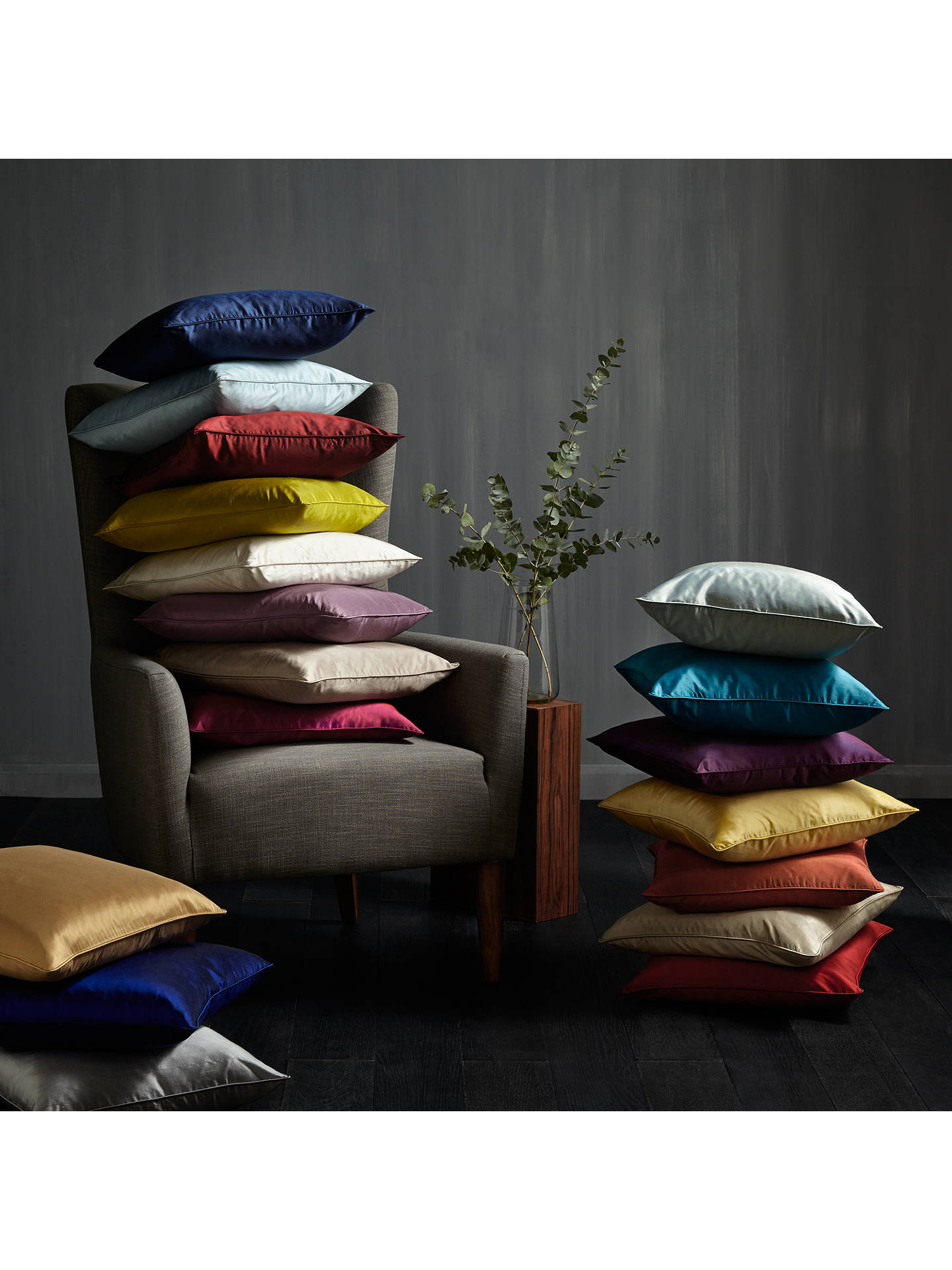 Buy John Lewis & Partners Linen Cushion, Saffron Online at johnlewis.com