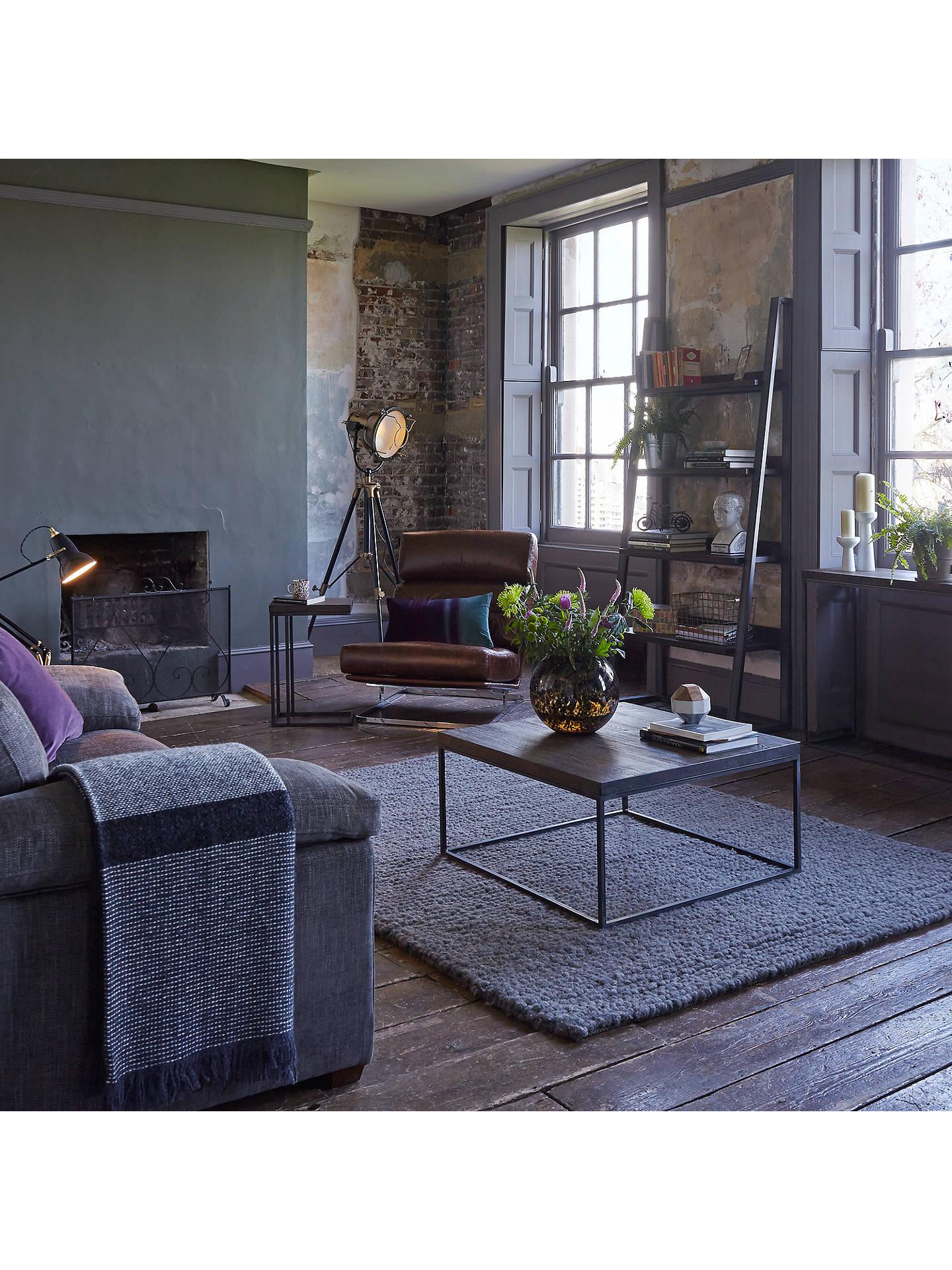 new arrival c7fd6 c9eab John Lewis & Partners Calia Sofa Side Table, Dark