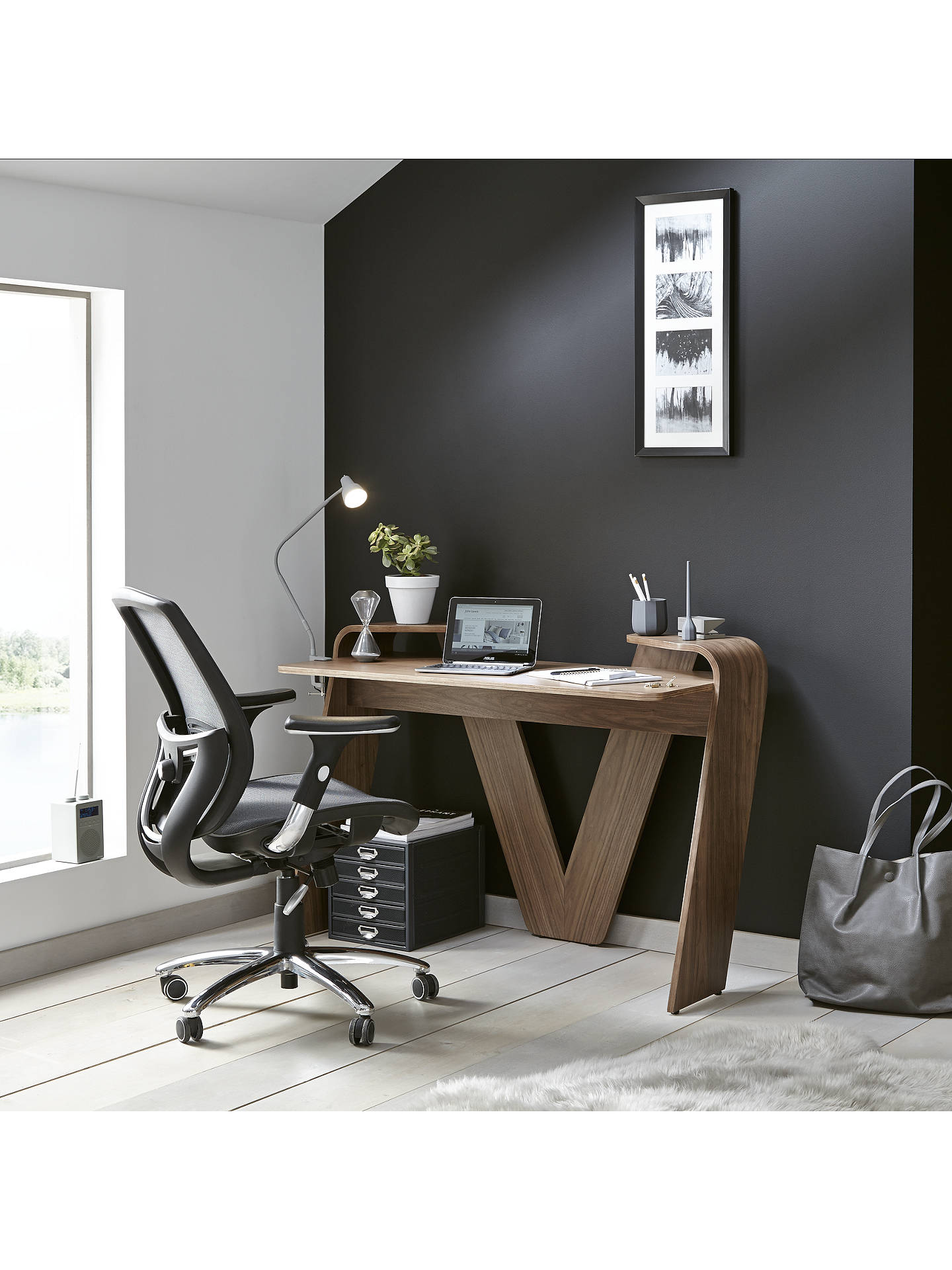 Buy John Lewis & Partners Murray Ergonomic Office Chair, Black Online at johnlewis.com