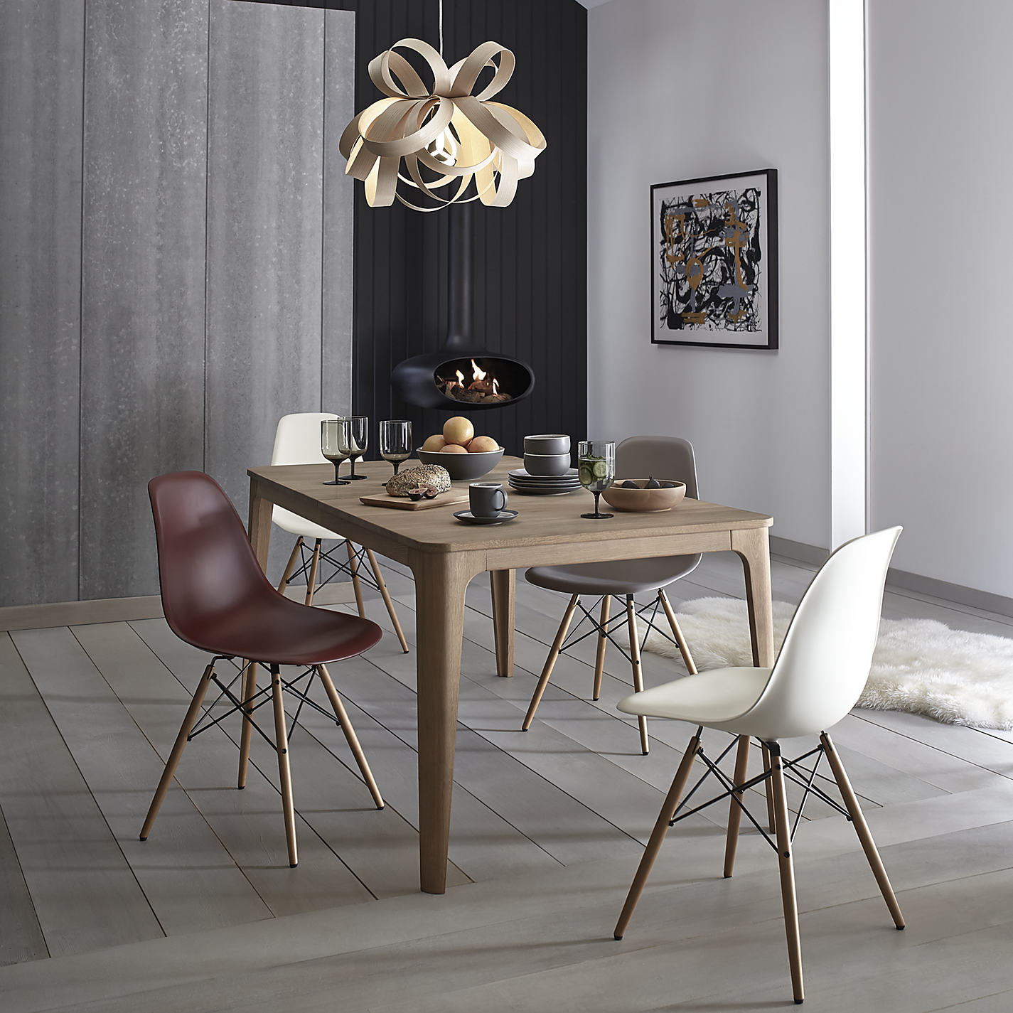 Buy Ebbe Gehl for John Lewis Mira 4 8 Seater Extending Dining Table  Online at  Buy Ebbe Gehl for John Lewis Mira 4 8 Seater Extending Dining  . Seat Pads For Dining Chairs John Lewis. Home Design Ideas