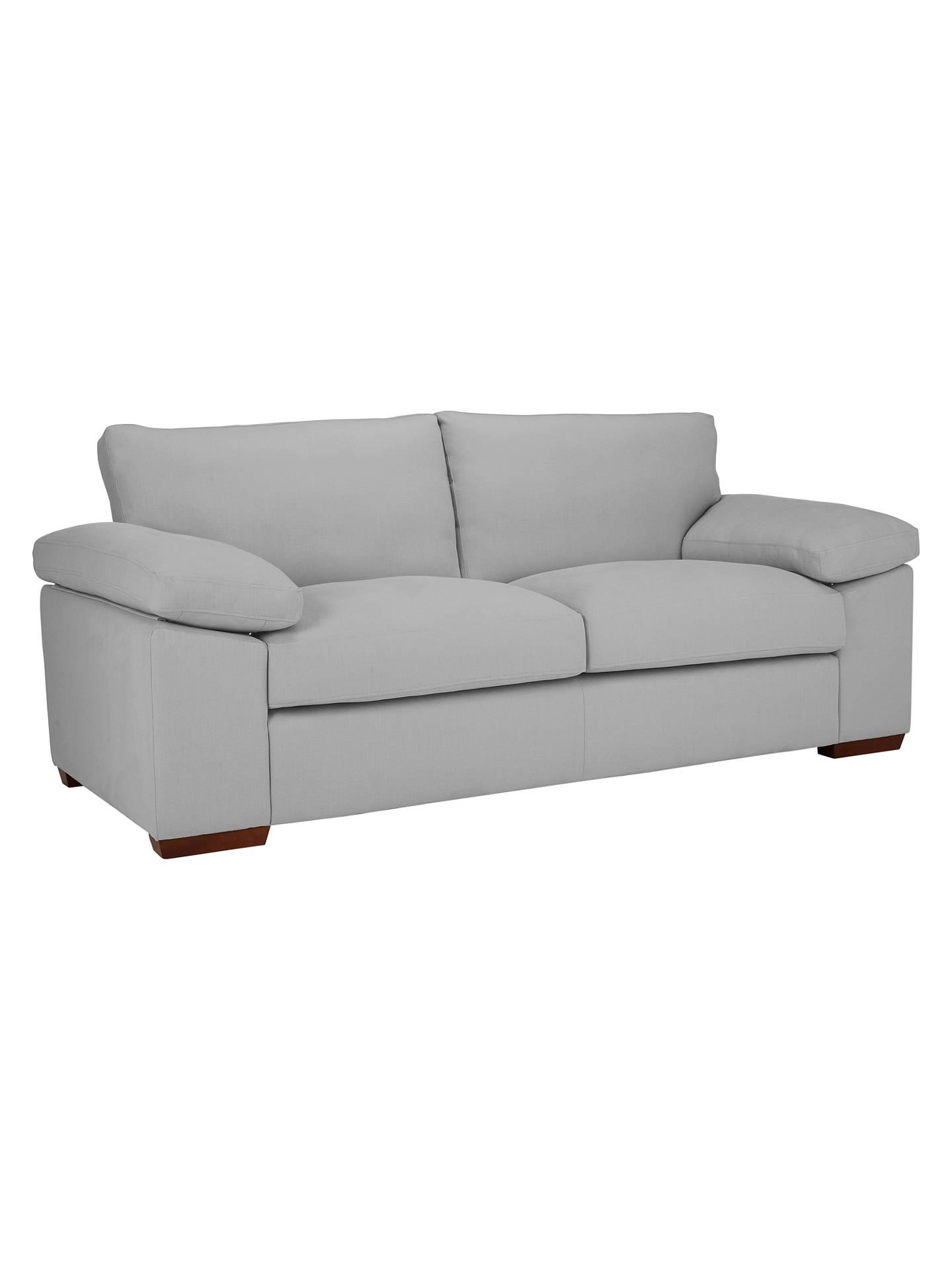 John Lewis Marshall Grand 4 Seater Sofa Elena Charcoal Online At Johnlewis