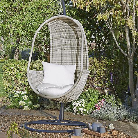 Garden Furniture Apple Pod buy john lewis dante pod hanging chair | john lewis