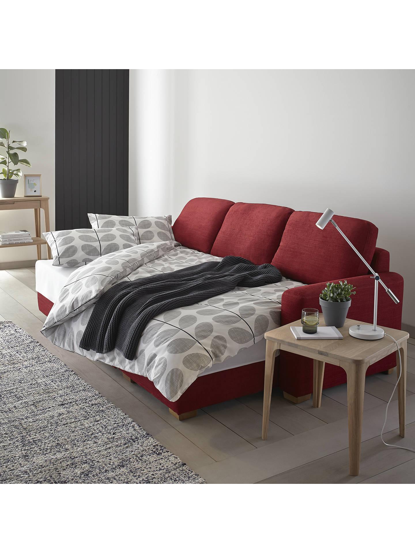 john lewis partners sacha large sofa bed with foam mattress light