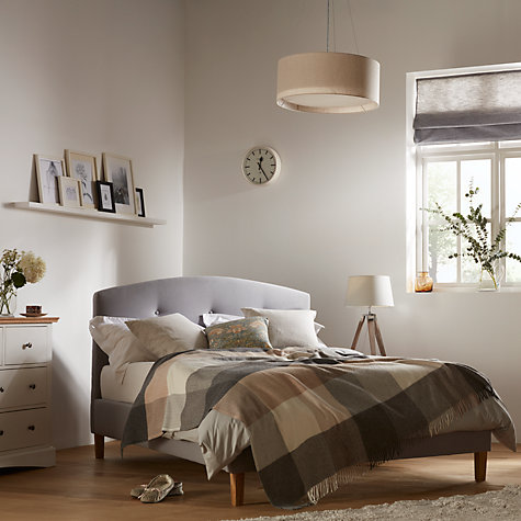 Buy john lewis grace bed frame king size grey john lewis for Bedroom inspiration john lewis