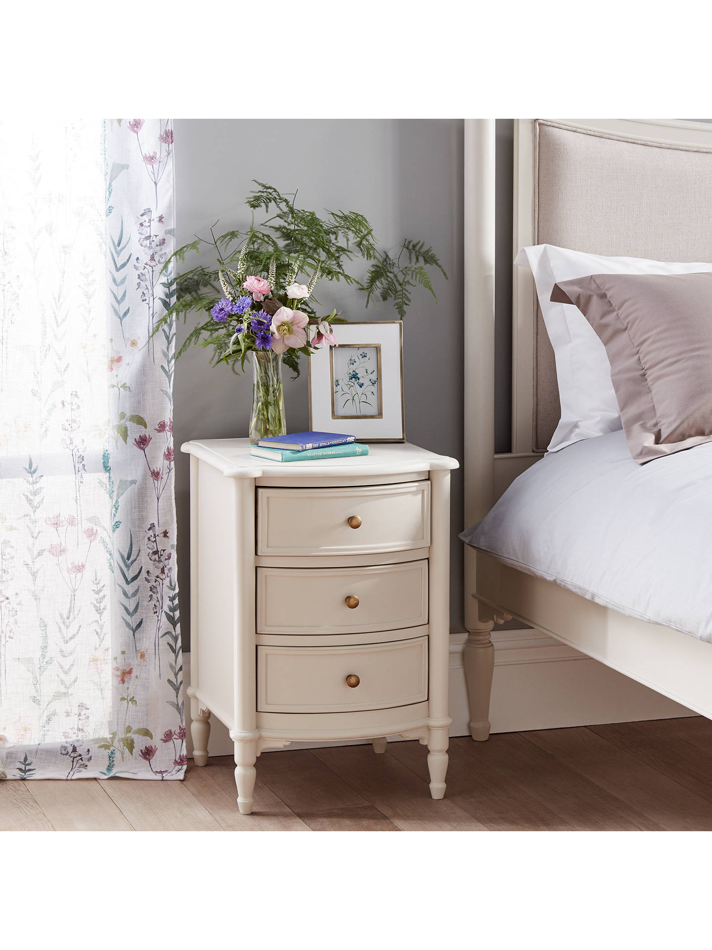 BuyJohn Lewis & Partners Ivybridge 3 Drawer Bedside Table Online at johnlewis.com
